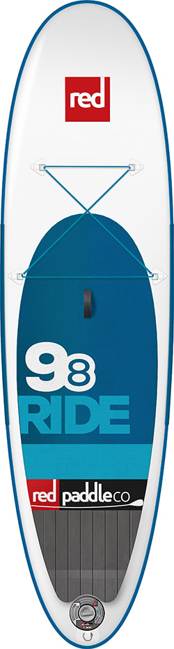 "Red Air 9'8"" Ride 2017"