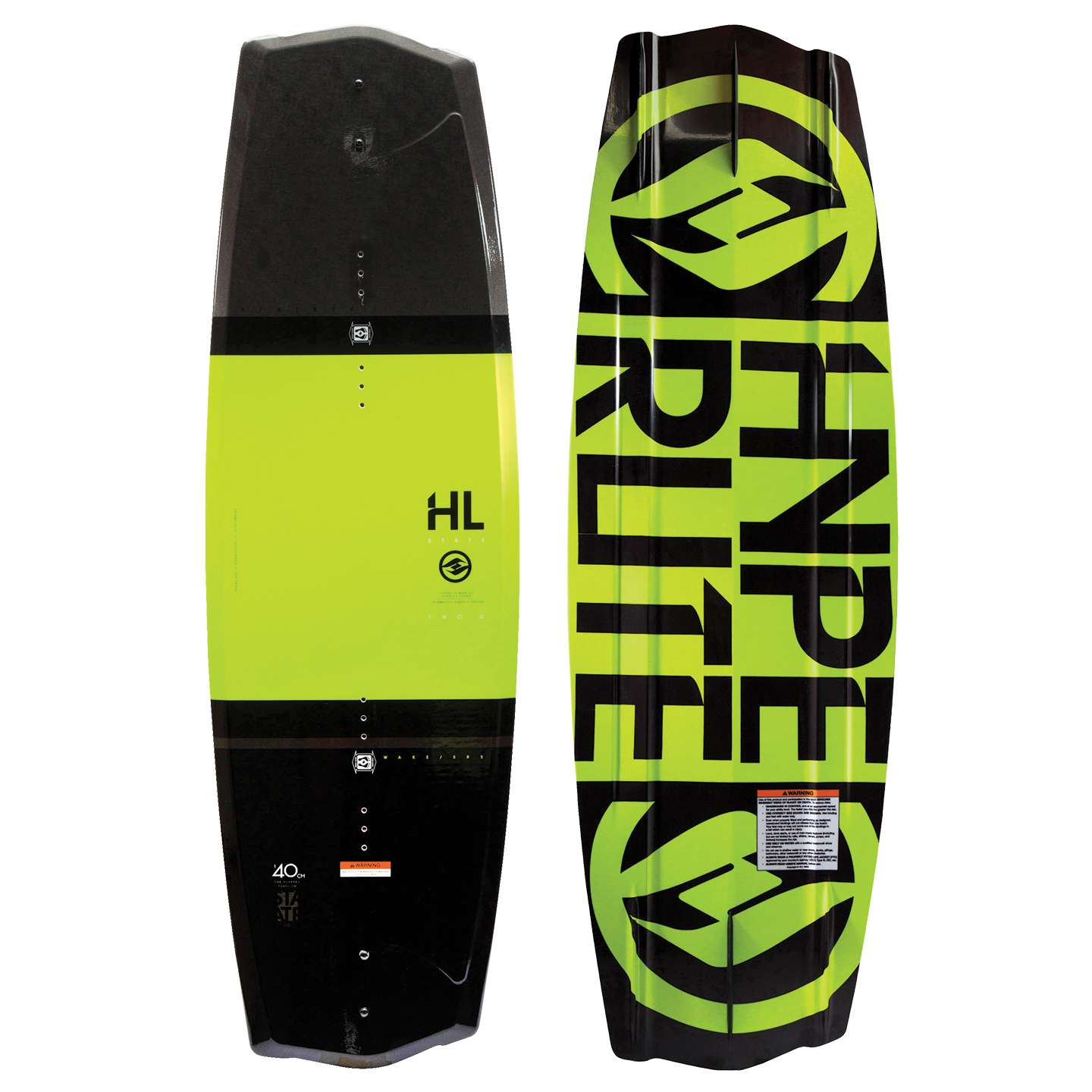 HYPERLITE STATE 2.0 125 JR. 2017 BOAT WAKEBOARD / YELLOW